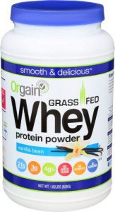 Orgain Grass-Fed Whey