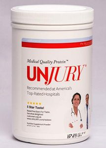 UNJURY Unflavored Protein Powder